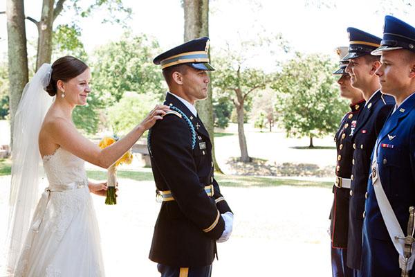 Beautiful Photos from Military Weddings | Dubai Wedding